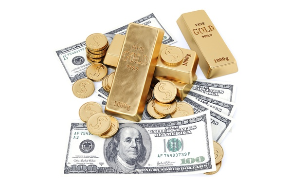 Picture Coins, Money, Gold, Dollars