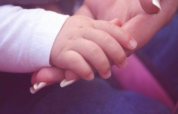 Picture love, line, tenderness, child, hands, family, care, mom, support, palm