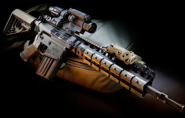 Picture weapons, optics, rifle, Tactical, 7.62, LaRue, PredatOBR