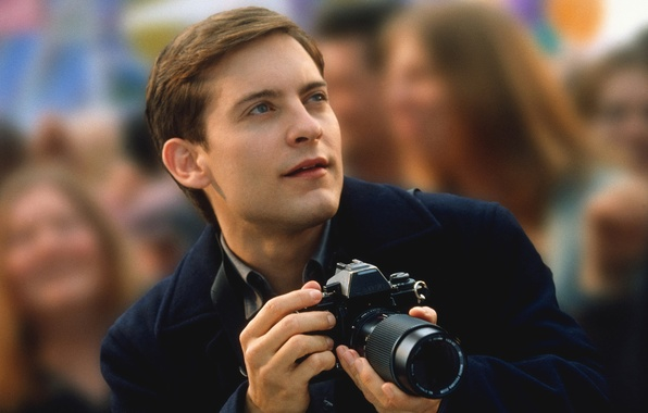 Picture mood, Photo, spider, actor, Tobey Maguire. Peter Parker.