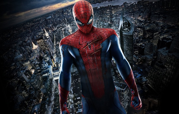Picture the city, spider-man, wounds, Spider Man