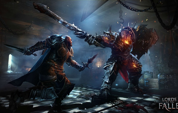 Photo wallpaper Warrior, Knight, Lords of The Fallen