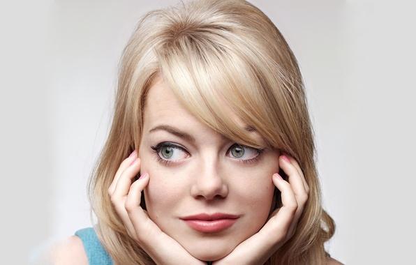 Picture actress, blonde, Emma Stone, Emma Stone