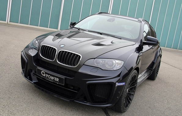 Picture black, BMW, BMW, G-Power, Black, crossover, E71