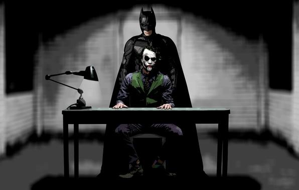 Picture table, Joker, the film, Batman, the dark knight, comic, Joker