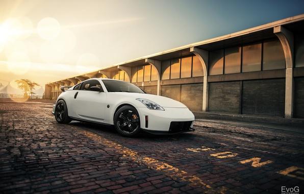 Picture Nissan, white, 350Z, Nismo, Evano Gucciardo