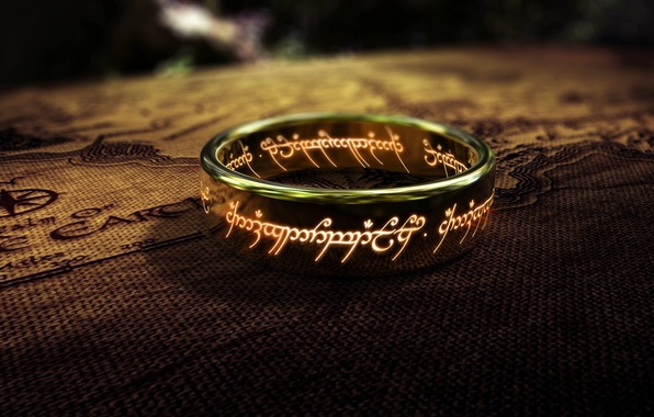 Picture The Lord of the rings, the one ring, the lord of the rings
