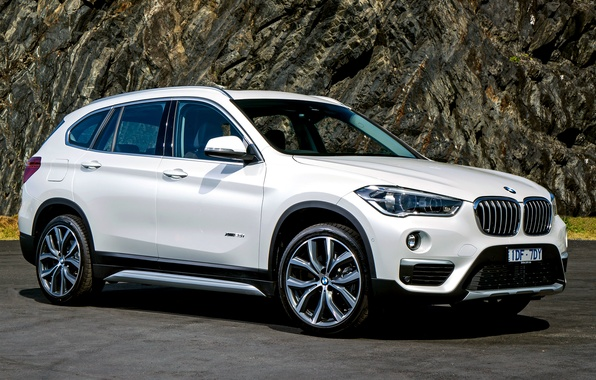 Picture white, BMW, BMW, crossover, F48