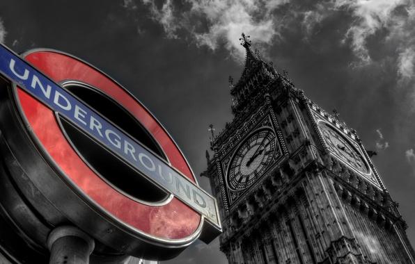 Picture England, London, Big Ben, London, England, Big Ben, United Kindom, Underground