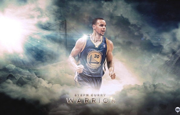 Photo wallpaper Sport, Basketball, NBA, Golden State, Stephen Curry, Warriors, Golden State, Stephen Curry, Warriors
