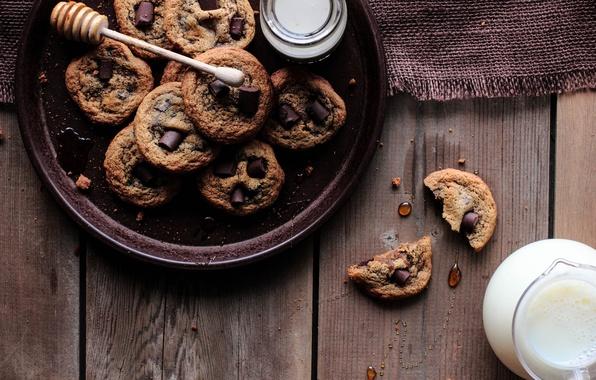 Picture drops, tea, coffee, chocolate, Breakfast, milk, cookies, cream, sweets, pitcher, honey, lunch, Chocolate, sweets, breakfast, …