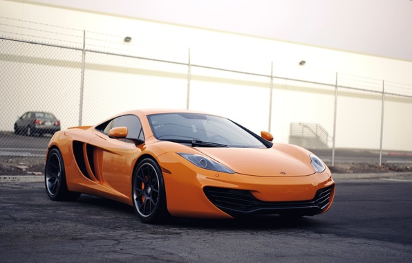 Picture McLaren, Machine, Orange, McLaren, Orange, Car, Car, Beautiful, Wallpapers, Beautiful, Supercar, mp4-12c, Wallpaper, MP4-12C