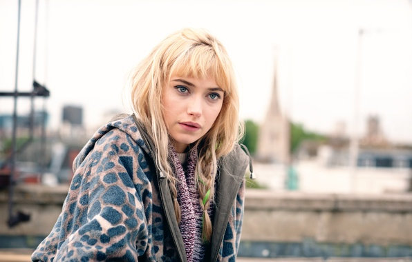 Picture Imogen Poots, A Long Way Down, Imogen Poots, Long fall, in the film