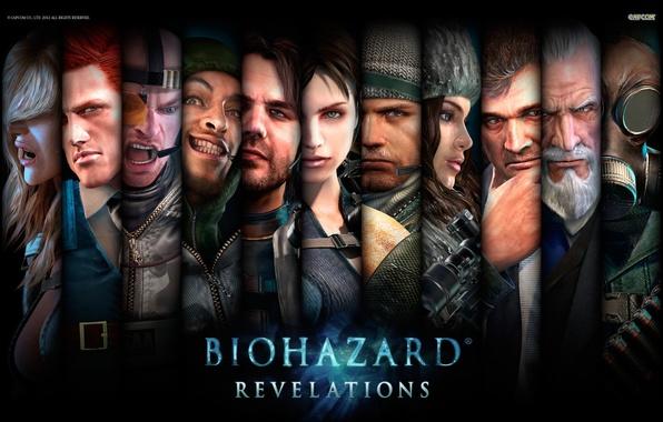 Picture wallpaper, resident evil, characters, Capcom, Resident Evil: Revelations, Biohazard, Jill Valentine, Jill Valentine, Rachael, Chris …
