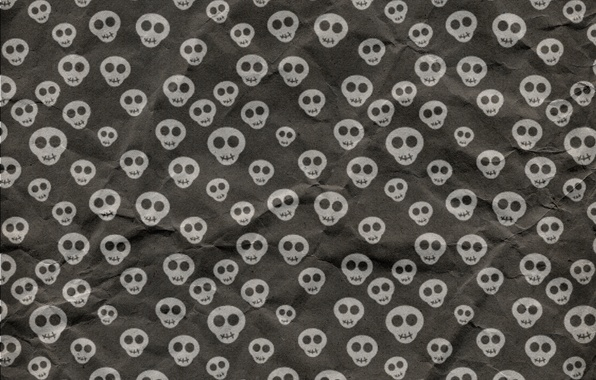 Picture background, skull, texture, Halloween