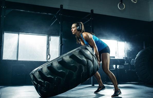 Photo wallpaper workout, crossfit, Janna Breslin