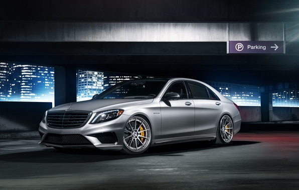 Picture Mercedes-Benz, front, S63