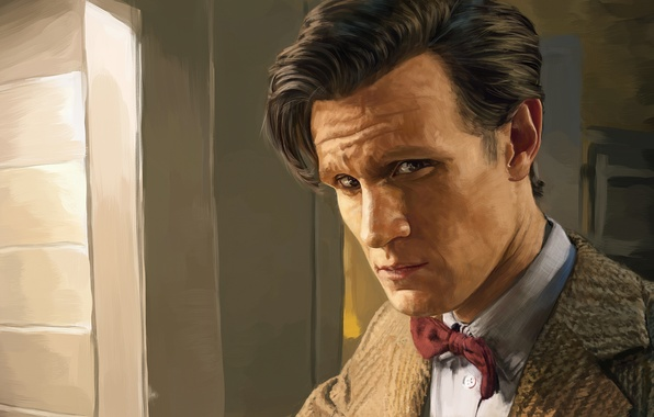 Picture art, the series, doctor who, Matt Smith, Eleventh Doctor