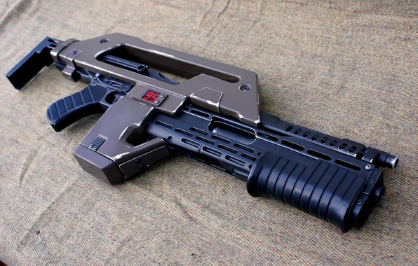 Picture weapons, rifle, pulse, М41А