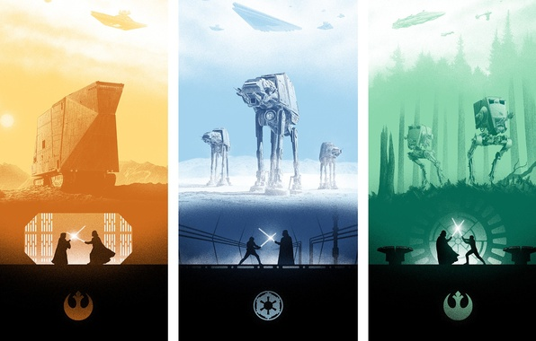 Wallpaper Star Wars Poster The Empire Strikes Back A