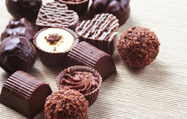 Picture chocolate, candy, sweets, dessert, chocolate, glaze, sweets, candy, milk