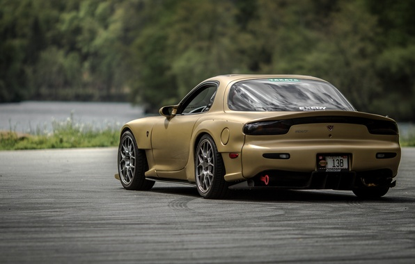 Picture Mazda, RX-7, JDM, Stance, FD3S
