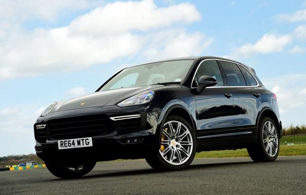 Picture Porsche, Porsche, Turbo, Cayenne, Cayenne, UK-spec, 958, 2014