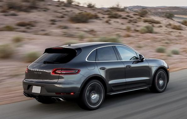Picture Road, Porsche, Desert, Machine, Speed, Car, Porsche, Speed, Turbo, Desert, Offroad, Macan