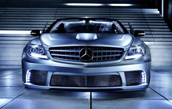 Picture tuning, steps, Mercedes, the front, Mercedes-Benz CL63 AMG