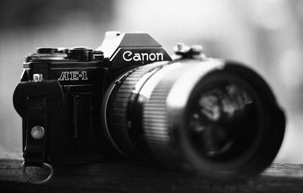 Picture Black and WHITE, LENSES, The CAMERA, CANON, FRAME, OPTICS, LENS