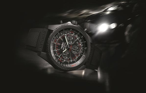 Wallpaper watch, Bentley, Breitling, Breitling for Bentley images for desktop, section hi-tech - download