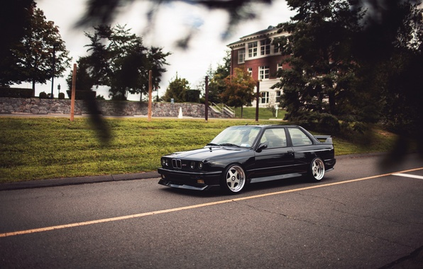 Wallpaper Black Tuning Bmw Bmw Black Tuning E30 Images For