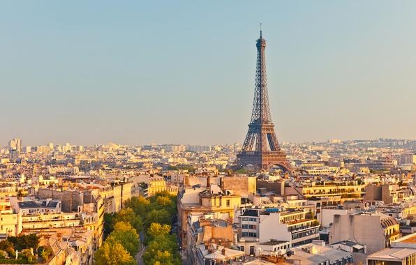 Picture France, Paris, Home, The city, Eiffel Tower, Megapolis