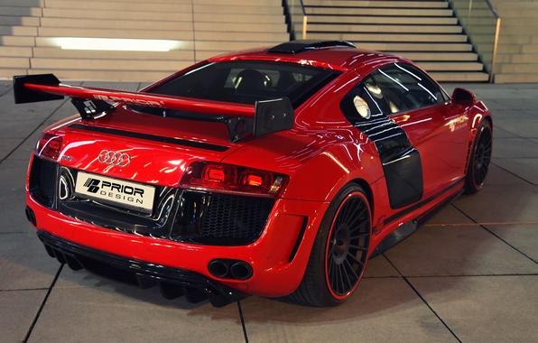 Picture machine, Audi, tuning, back, Prior-Design, GT650
