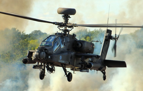 """Picture helicopter, Apache, AH-64D, shock, main, """"Apache"""""""