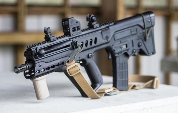 Picture machine, rifle, assault, Tavor, TAR-21