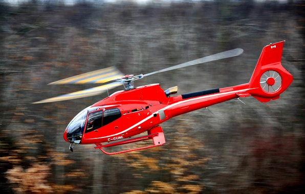 Picture flight, easy, blur, helicopter, the, bokeh, Eurocopter, single-engine, transport, silent, manufacturer, EC130, walllpaper., in his, …