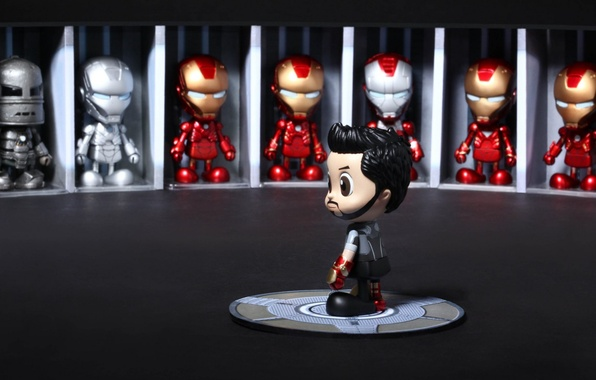 Picture toys, cosplay, Iron man 3, Iron Man 3, Cosbaby, Hot Toys