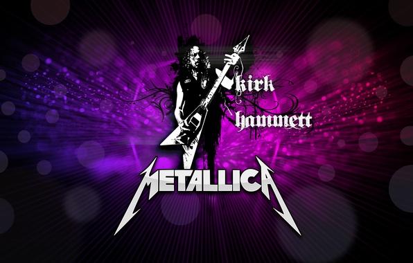 Picture music, guitarist, rock, metallica, electric guitar, kirk hammett