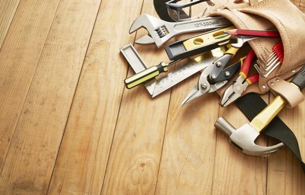Picture floor, tools, installation