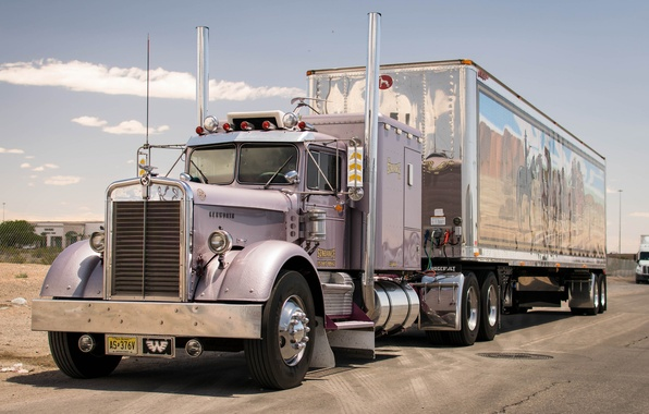 Picture truck, the front, tractor, 1956, Kenworth