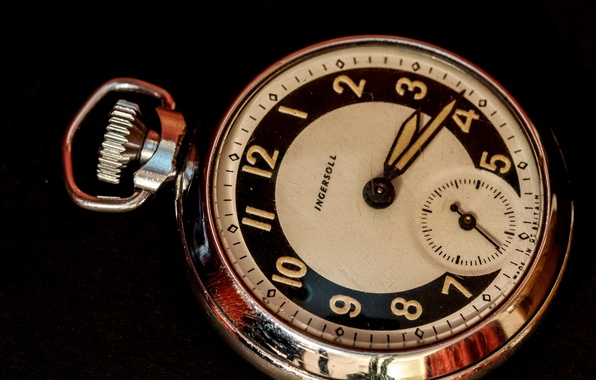Picture metal, background, arrows, watch, dial, pocket, Ingersoll