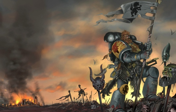 Picture Warhammer 40000, Space Wolves, The Space Wolves
