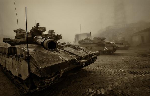Picture tank, combat, Merkava, main, Merkava, Israel