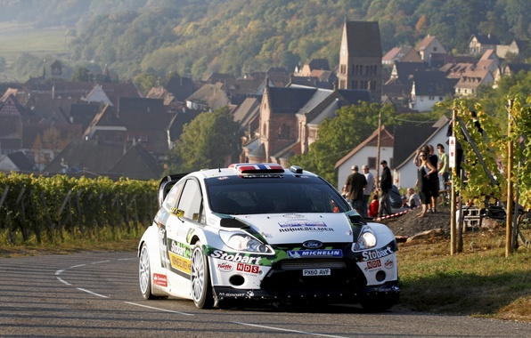 Picture Ford, Auto, Road, The city, Sport, People, Asphalt, Day, WRC, Rally, Rally, Fiesta