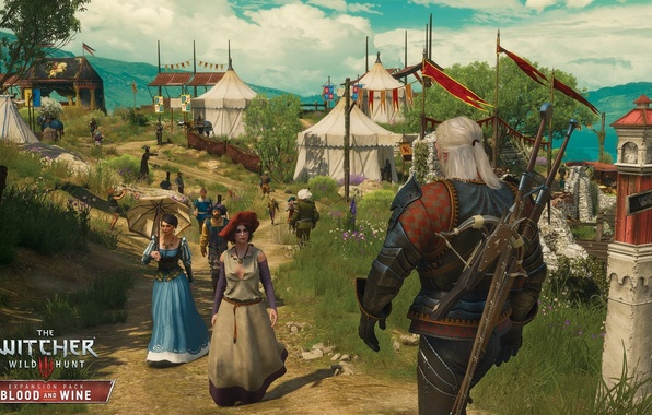 Picture the game, the Witcher, DLC, RPG, The Witcher 3: Wild Hunt, Supplement, The Witcher 3: …