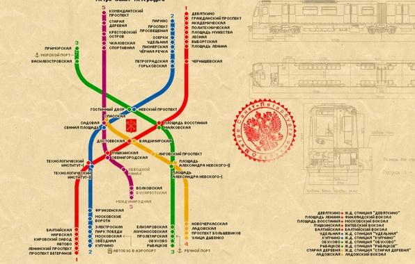 Picture metro, Peter, Saint Petersburg