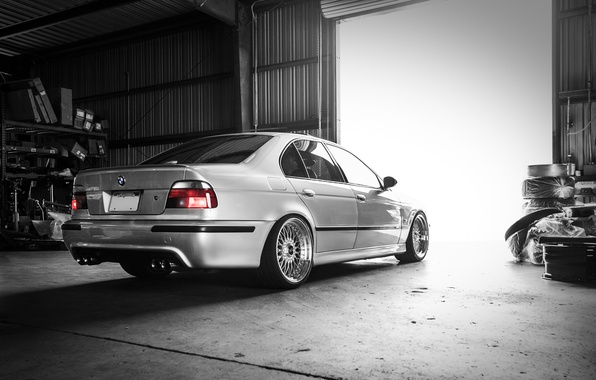 Picture BMW, sedan, tuning, 5 series, bmw m5, e39, rier