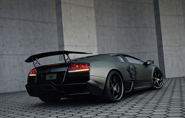 Picture tuning, ass, Lamborghini, Wheelsandmore, Murcielago, SuperVeloce, LP720-4