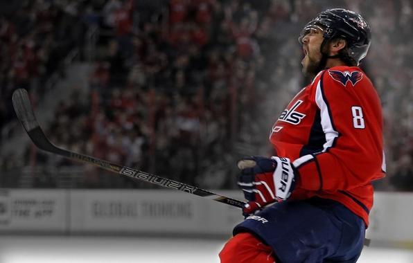 Photo Wallpaper Sport Star Hockey Legend Goal Alexander Ovechkin Washington